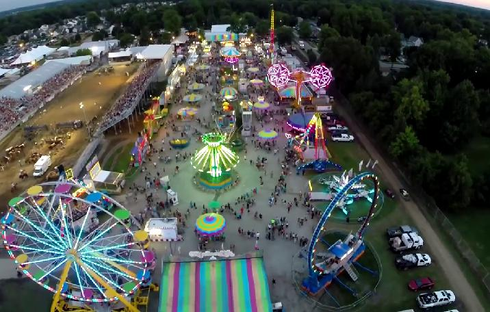 Cumberland County Fair 2020 Tn.Big Rock Amusements
